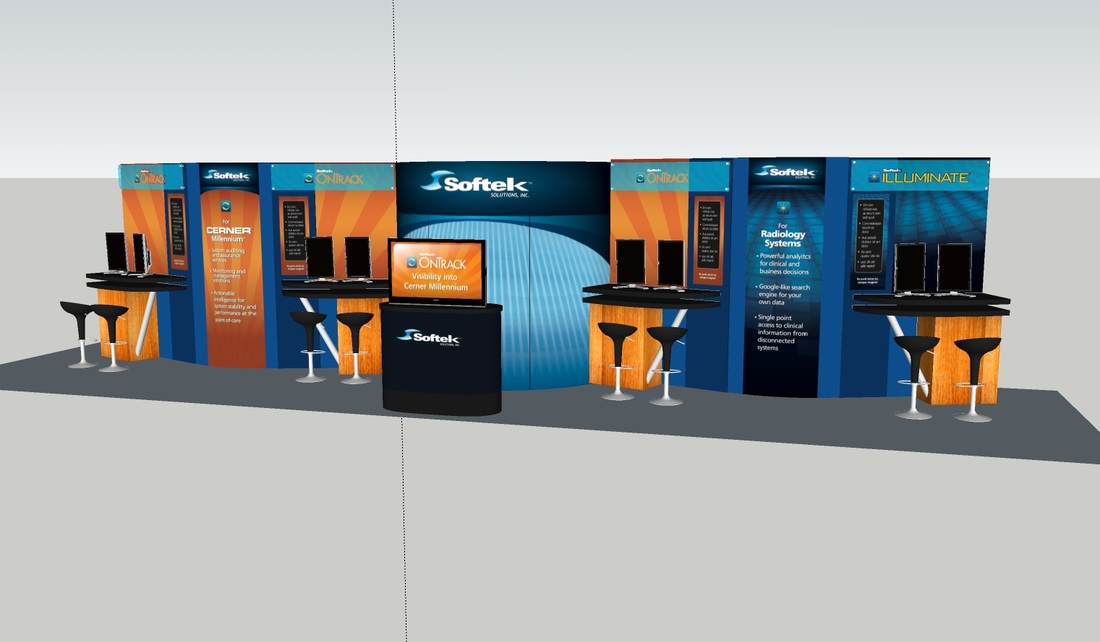 Exhibition Booth Clipart : Tradeshows riddle design work